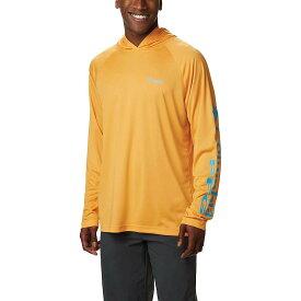コロンビア Columbia メンズ 釣り・フィッシング トップス【terminal tackle hoodie】Summer Orange/Riptide Logo