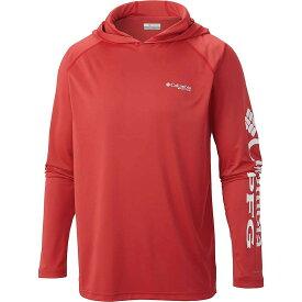 コロンビア Columbia メンズ 釣り・フィッシング トップス【terminal tackle hoodie】Yacht/Red Spark Logo