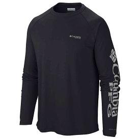 コロンビア Columbia メンズ 釣り・フィッシング トップス【terminal tackle ls shirt】Black/Gulf Stream