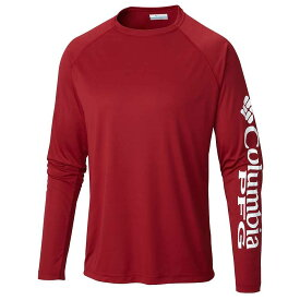 コロンビア Columbia メンズ 釣り・フィッシング トップス【terminal tackle ls shirt】Beet/White