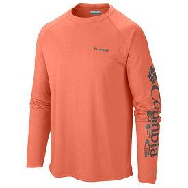 コロンビア Columbia メンズ 釣り・フィッシング トップス【terminal tackle ls shirt】Bright Peach/Grill