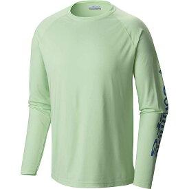 コロンビア Columbia メンズ 釣り・フィッシング トップス【terminal tackle ls shirt】Key West/Vivid Blue