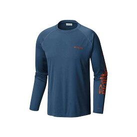 コロンビア Columbia メンズ 釣り・フィッシング トップス【terminal tackle ls shirt】Dark Mountain/Backcountry Orange L