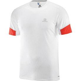 サロモン Salomon メンズ ランニング・ウォーキング Tシャツ トップス【agile ss tee】White
