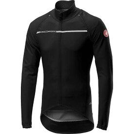 カステリ Castelli メンズ 自転車 ジャケット アウター【perfetto ros convertible jacket】Light Black