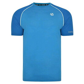 デア トゥビー Dare 2B メンズ ランニング・ウォーキング Tシャツ トップス【institute wool tee】Atlantic/Petrol Blue