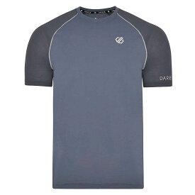 デア トゥビー Dare 2B メンズ ランニング・ウォーキング Tシャツ トップス【institute wool tee】Meteor/Quarry Grey