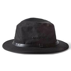 フィルソン Filson メンズ ハット 帽子【tin packer hat】Black