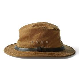 フィルソン Filson メンズ ハット 帽子【tin packer hat】Dark Tan