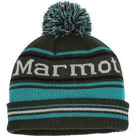 マーモット Marmot メンズ ニット 帽子【retro pom hat】Rosin Green/Deep Jungle