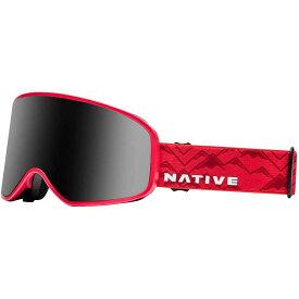 ネイティブ Native ユニセックス スキー・スノーボード ゴーグル【tenmile polarized goggle】Red Watch/Dark Grey