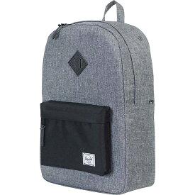 ハーシェル サプライ Herschel Supply Co ユニセックス ハイキング・登山 バックパック・リュック【heritage backpack】Raven Crosshatch/Black/Black Leather