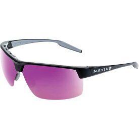 ネイティブ Native ユニセックス メガネ・サングラス 【hardtop ultra xp polarized sunglasses】Matte Black/Violet Reflex