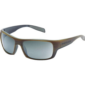 ネイティブ Native ユニセックス メガネ・サングラス 【eddyline polarized sunglasses】Wood/Matte Black/Silver Reflex Polarized