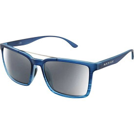 ネイティブ Native ユニセックス メガネ・サングラス 【four corners polarized sunglasses】Blue Water/Silver Reflex Polarized
