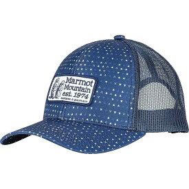 マーモット Marmot ユニセックス キャップ 帽子【angles trucker cap】Arctic Navy