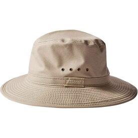 フィルソン Filson ユニセックス ハット 帽子【summer packer hat】Desert Tan