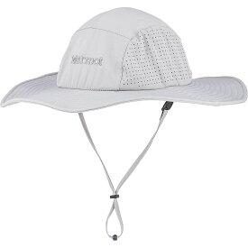 マーモット Marmot ユニセックス ハット 帽子【breeze hat】Grey Storm