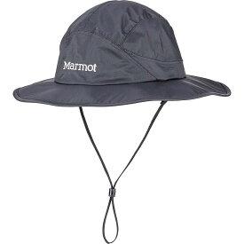 マーモット Marmot ユニセックス ハット サファリハット 帽子【precip eco safari hat】Black