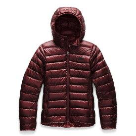 ザ ノースフェイス The North Face レディース ダウン・中綿ジャケット アウター【sierra peak hoodie】Deep Garnet Red
