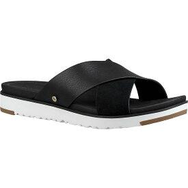 アグ Ugg レディース サンダル・ミュール シューズ・靴【kari sandal】Black