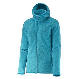 サロモン Salomon レディース スキー・スノーボード パーカー トップス【bise hoodie】Kouak Blue