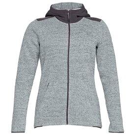 アンダーアーマー Under Armour レディース パーカー トップス【wintersweet 2.0 hoodie】Overcast Gray/Overcast Gray/White