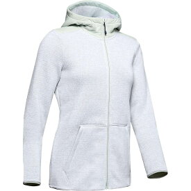 アンダーアーマー Under Armour レディース パーカー トップス【wintersweet 2.0 hoodie】Atlas Green Fade Heather/Onyx White