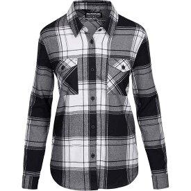 ダカイン Dakine レディース ブラウス・シャツ フランネルシャツ トップス【noella tech flannel shirt】Bright White