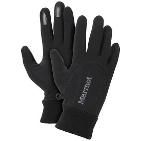 マーモット Marmot レディース 手袋・グローブ 【power stretch glove】Black