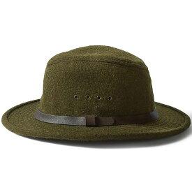 フィルソン Filson メンズ 帽子 【wool packer hat】Forest Green