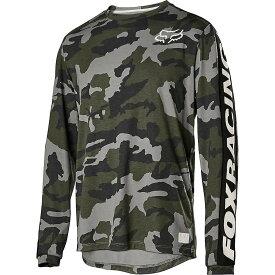 フォックス Fox メンズ 自転車 トップス【ranger drirelease ls jersey】Green Camo