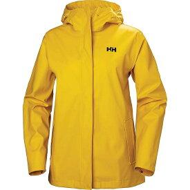 ヘリーハンセン Helly Hansen レディース レインコート アウター【moss jacket】Essential Yellow
