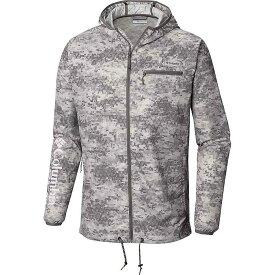 コロンビア Columbia メンズ 釣り・フィッシング ウィンドブレーカー ジャケット アウター【terminal deflector windbreaker jacket】Charcoal Digi Scale Print