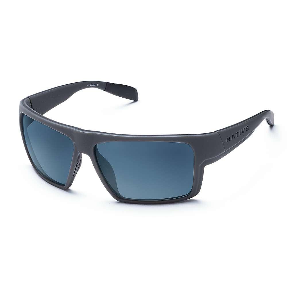 ネイティブ ユニセックス メンズ レディース アクセサリー メガネ・サングラス【Native Eldo Polarized Sunglasses】Granite / Matte Black / Blue Reflex Polarized