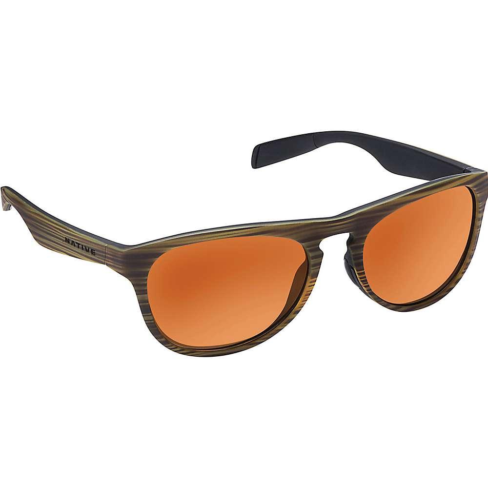 ネイティブ ユニセックス メンズ レディース アクセサリー メガネ・サングラス【Native Sanitas Polarized Sunglasses】Wood / Black / Bronze Reflex