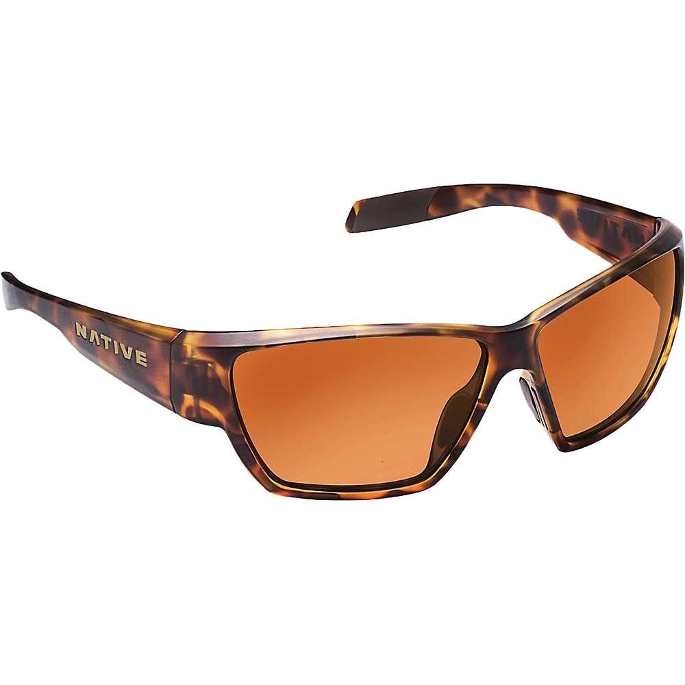 ネイティブ ユニセックス メンズ レディース アクセサリー メガネ・サングラス【Native Wolcott Polarized Sunglasses】Desert Tort / Brown