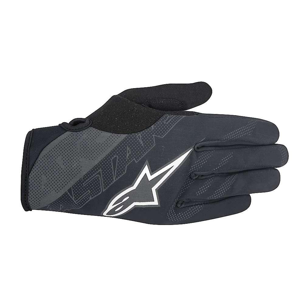 アルパインスターズ メンズ アクセサリー 手袋【Alpine Stars Stratus Glove】Black / Steel Grey