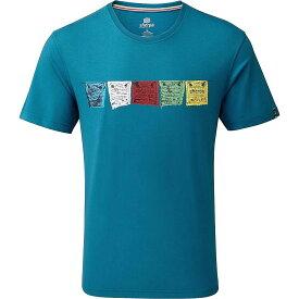 シェルパ Sherpa メンズ ハイキング・登山 Tシャツ トップス【Tarcho Tee】Raja Blue