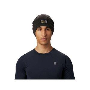 マウンテンハードウェア Mountain Hardwear ユニセックス ニット ビーニー 帽子【MHW Logo Beanie】Void