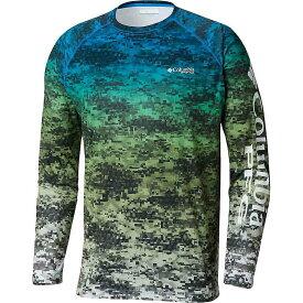 コロンビア Columbia メンズ 釣り・フィッシング トップス【Super Terminal Tackle LS Shirt】Cypress Digi Scale Print