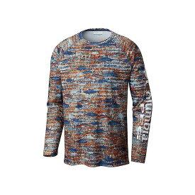 コロンビア Columbia メンズ 釣り・フィッシング トップス【Super Terminal Tackle LS Shirt】Dark Mountain Tuna Print