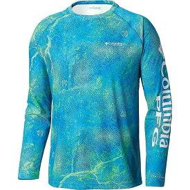 コロンビア Columbia メンズ 釣り・フィッシング トップス【Super Terminal Tackle LS Shirt】Hyper Blue Realtree MAKO