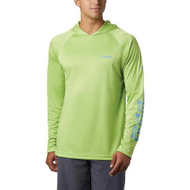 コロンビア Columbia メンズ 釣り・フィッシング トップス【Terminal Tackle Hoodie】Green Glow/Yacht Logo