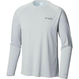コロンビア Columbia メンズ 釣り・フィッシング トップス【Cast Away Zero II Knit LS Shirt】Cool Grey