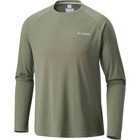 コロンビア Columbia メンズ 釣り・フィッシング トップス【Cast Away Zero II Knit LS Shirt】Cypress/Cool Grey