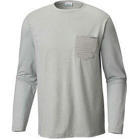 コロンビア Columbia メンズ 釣り・フィッシング トップス【Slack Tide Pocket LS Shirt】Cool Grey