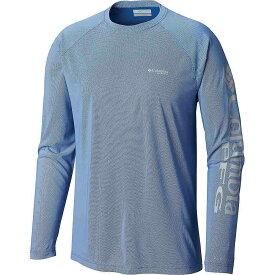 コロンビア Columbia メンズ 釣り・フィッシング トップス【Terminal Deflector LS Shirt】Vivid Blue/Cool Grey