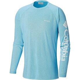 コロンビア Columbia メンズ 釣り・フィッシング トップス【Terminal Deflector LS Shirt】Riptide/White