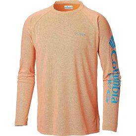 コロンビア Columbia メンズ 釣り・フィッシング トップス【Terminal Deflector LS Shirt】Solar/Riptide